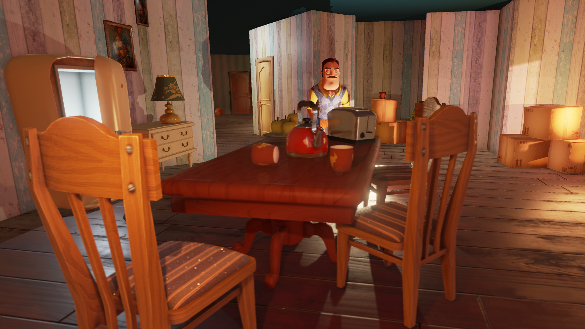 Hello Neighbor is out now on Steam