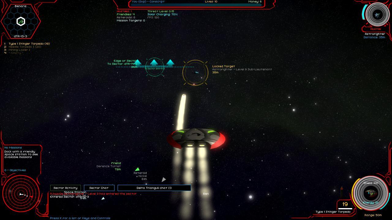 starfighter infinity screenshot