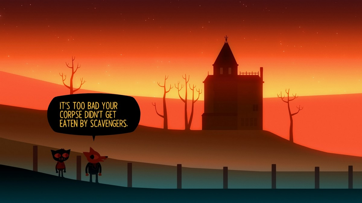 A Night in the Woods Weird Autumn Edition Switch screenshot