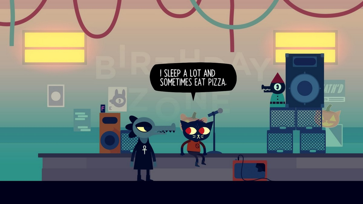 A Night in the Woods Weird Autumn Edition review