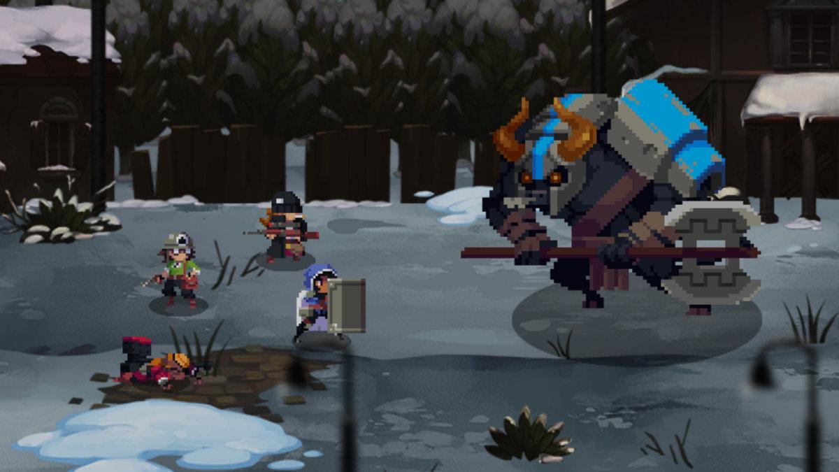 Full Metal Furies gameplay screenshot