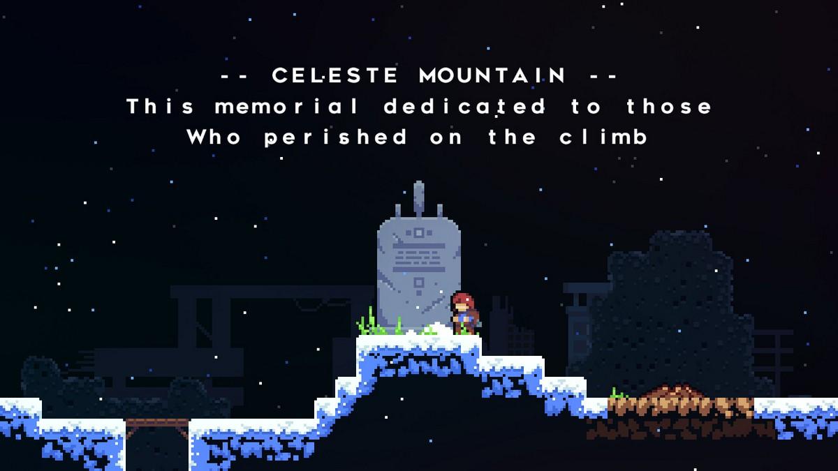 celeste gameplay screenshot