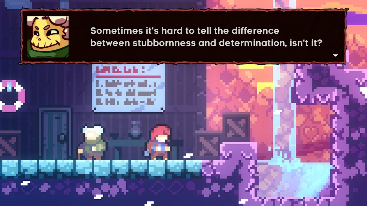 Celeste Switch gameplay screenshot review