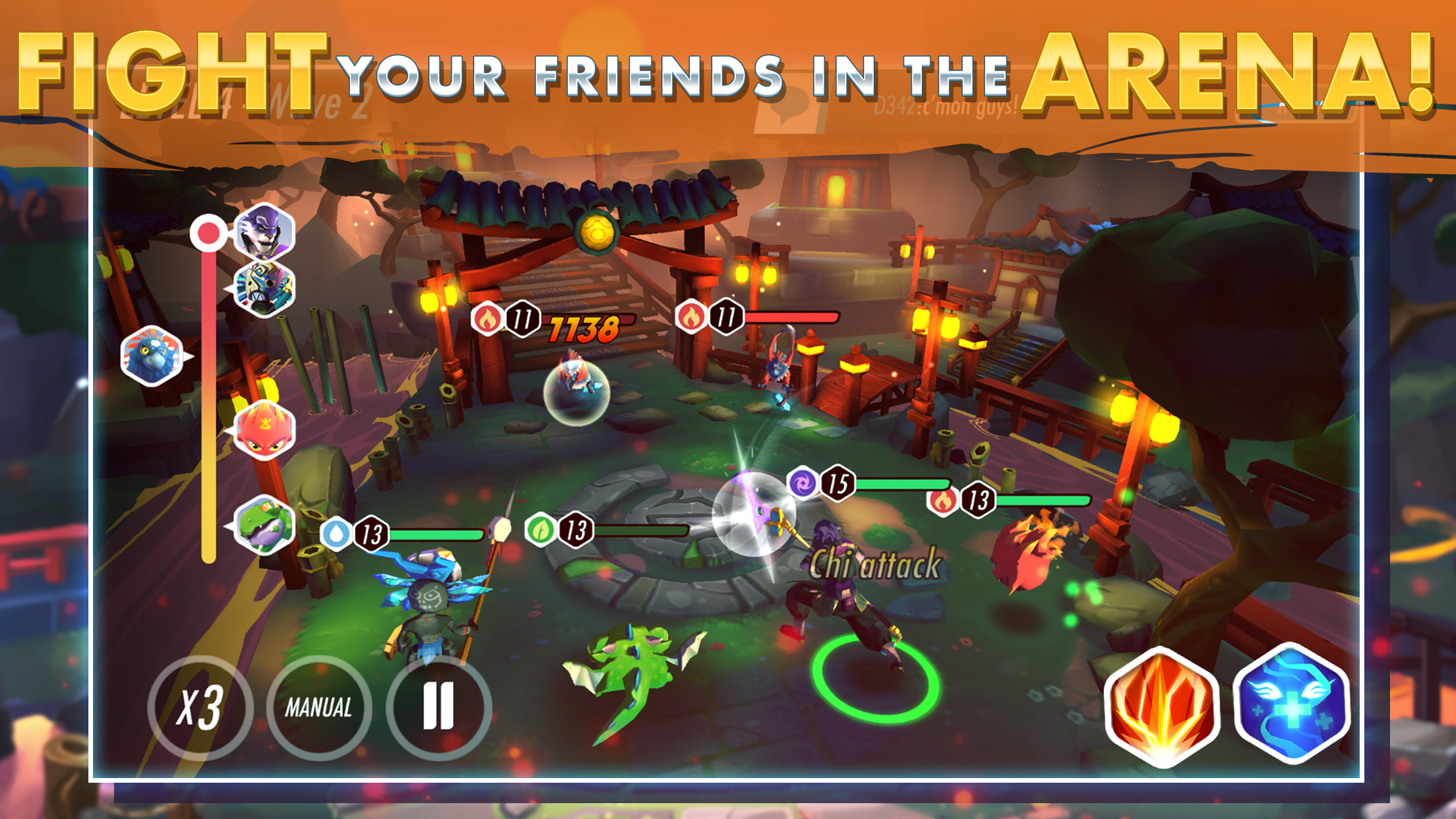 Heroes of Rings: Dragons War out now on mobile | The Indie
