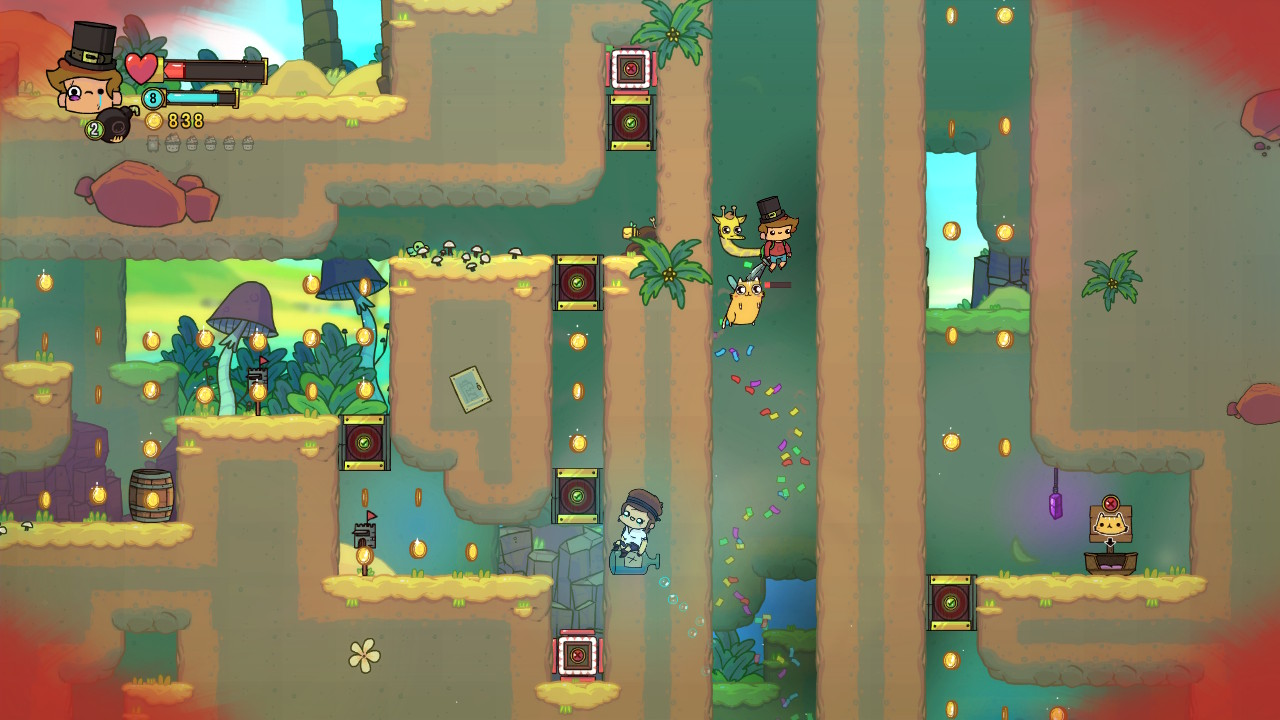 adventure pals screenshot Switch