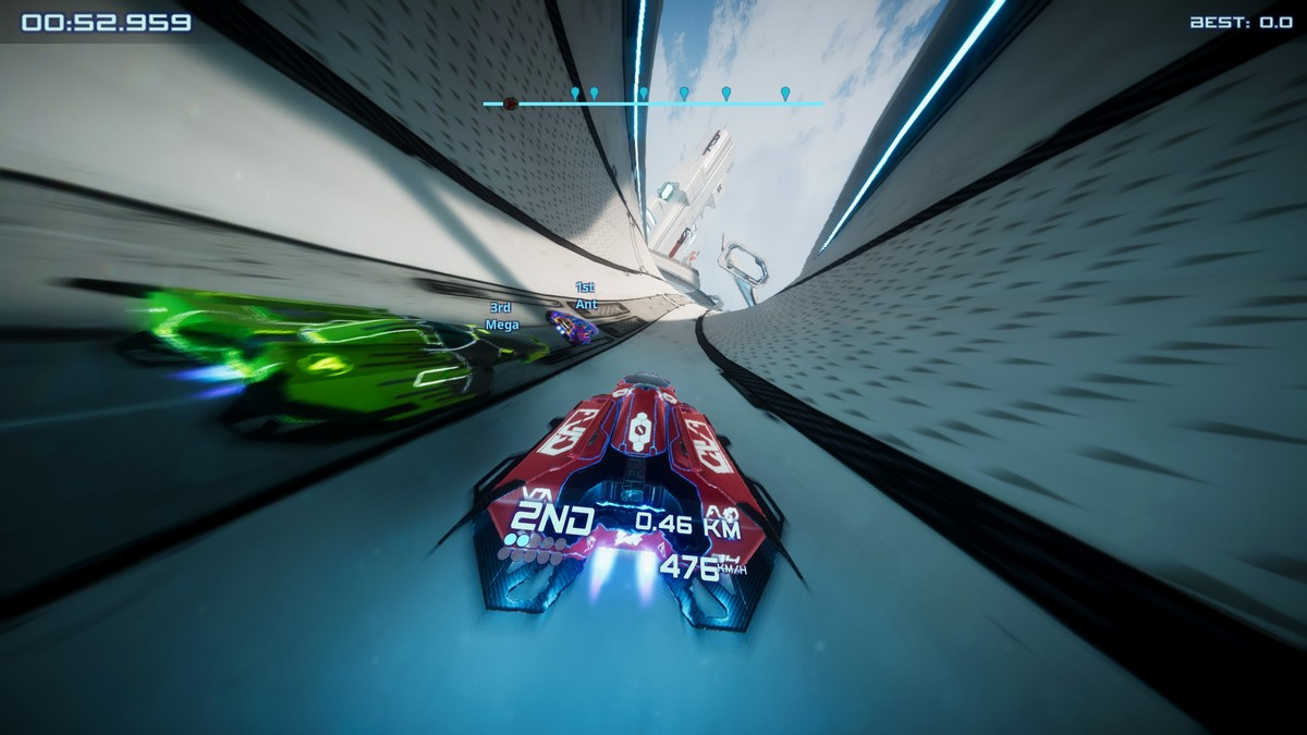 Antigraviator racing game review