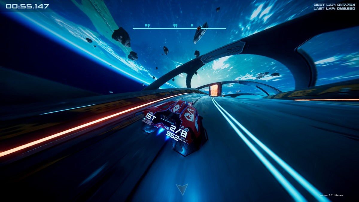 Antigraviator Wipeout game review