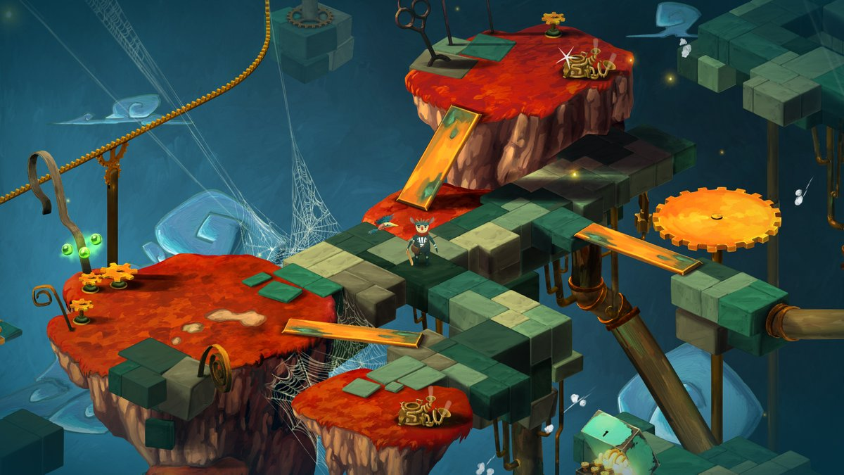 Musical adventure Figment is out today on Steam and GOG