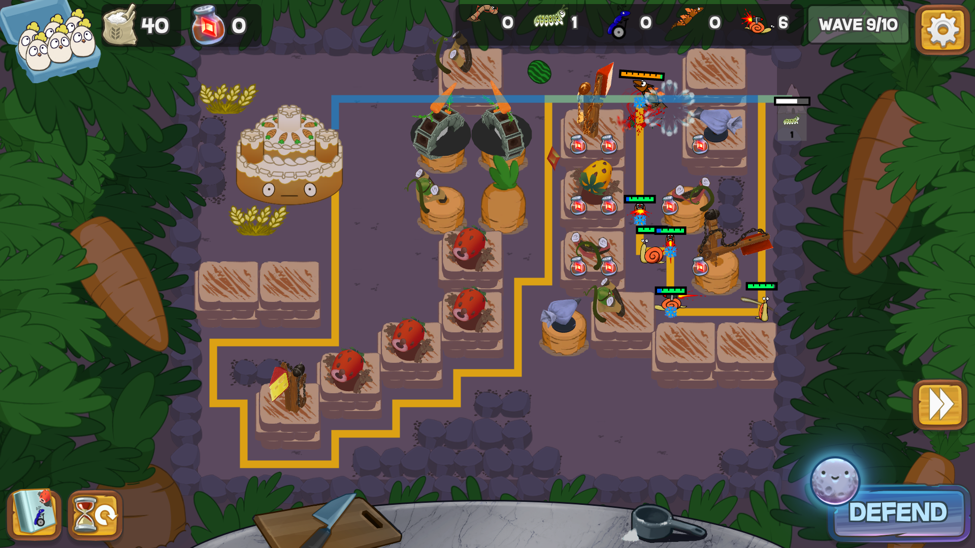 Defend the Cake launches on steam