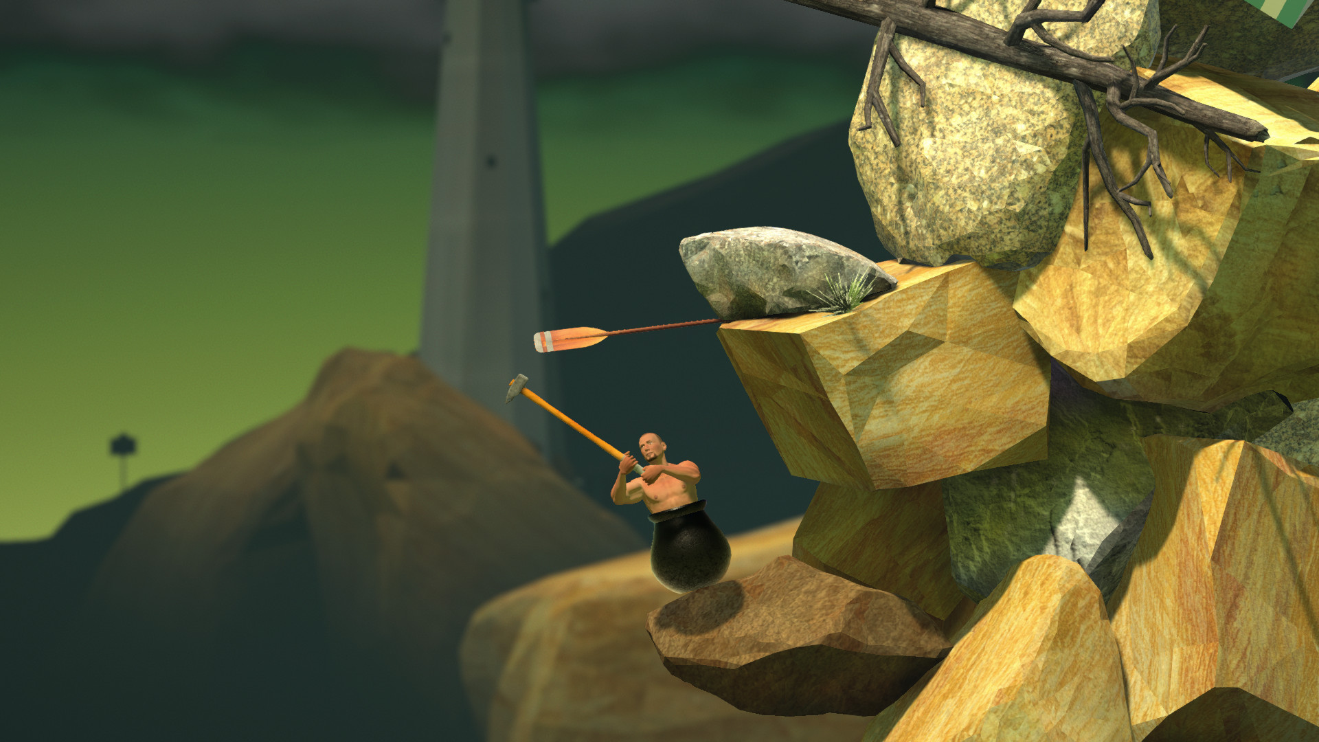 Getting Over It with Bennett Foddy is out on Steam