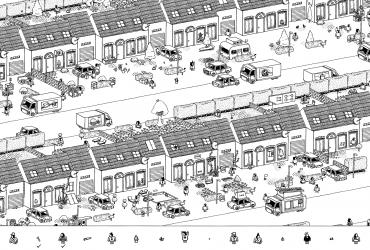 Hidden Folks suburb map