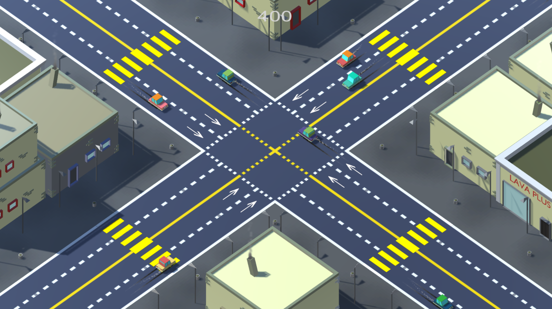 New free to play game Slightly Annoying Traffic