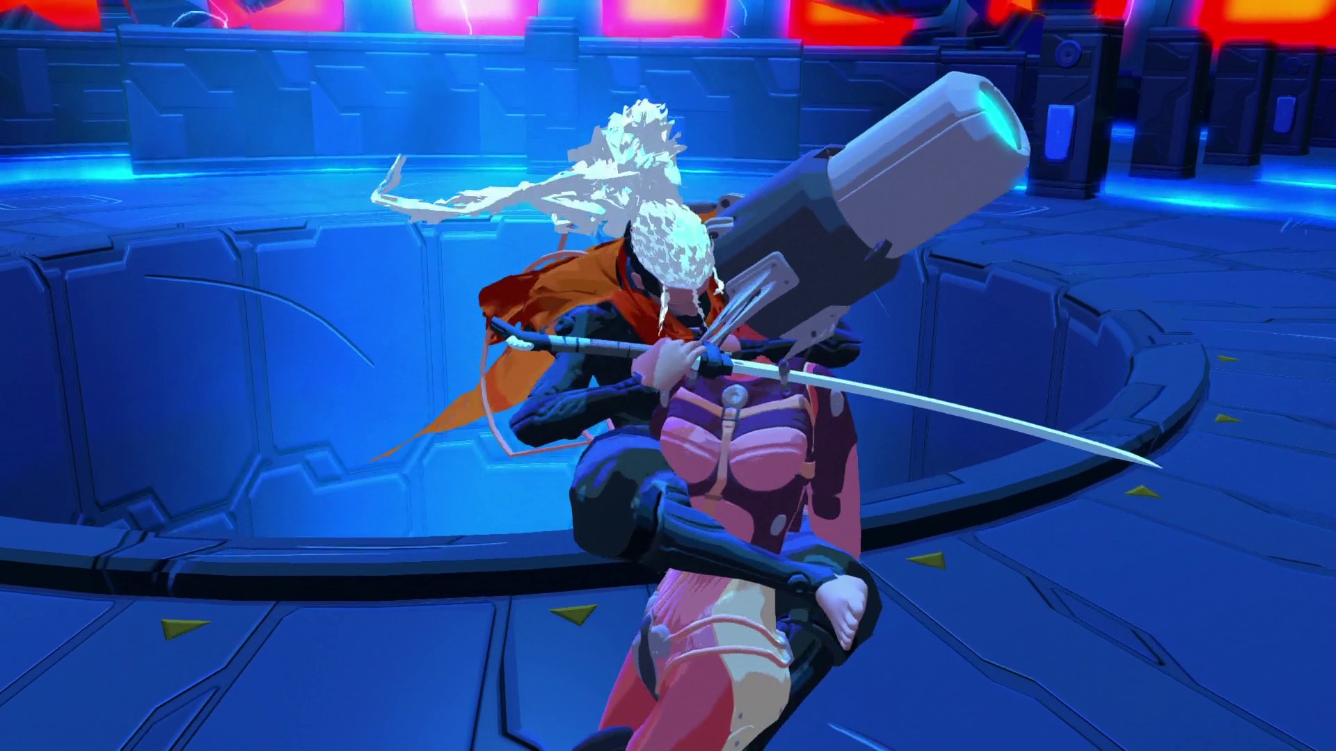 Furi releases on Switch next week