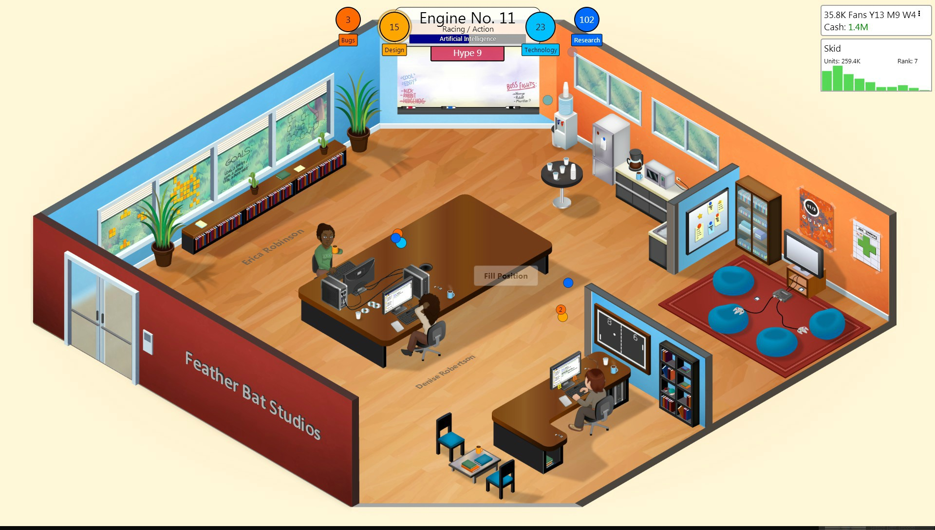 Game Dev Tycoon finally coming to Android