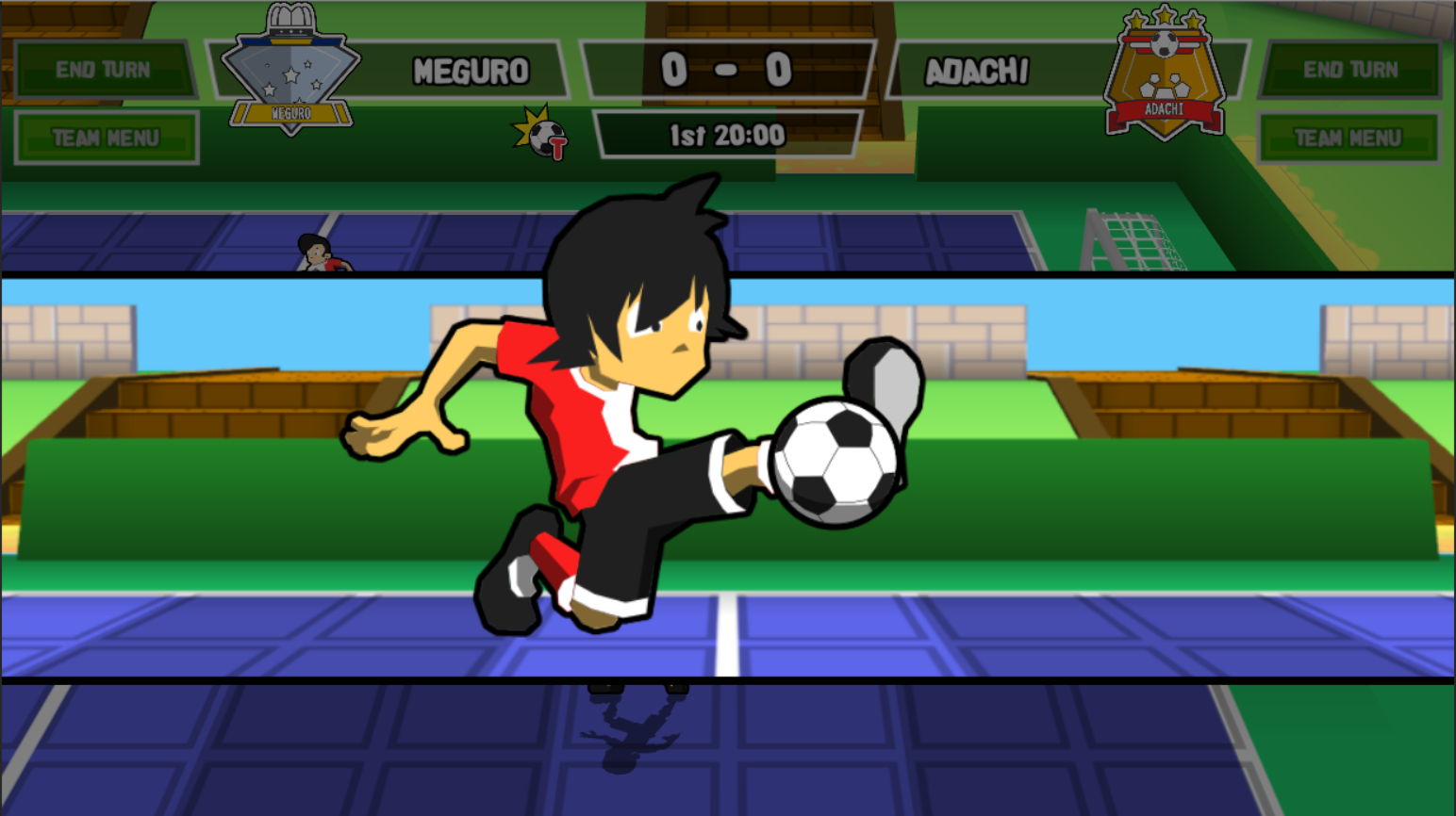 Ganbare! Super Strikers enters early access