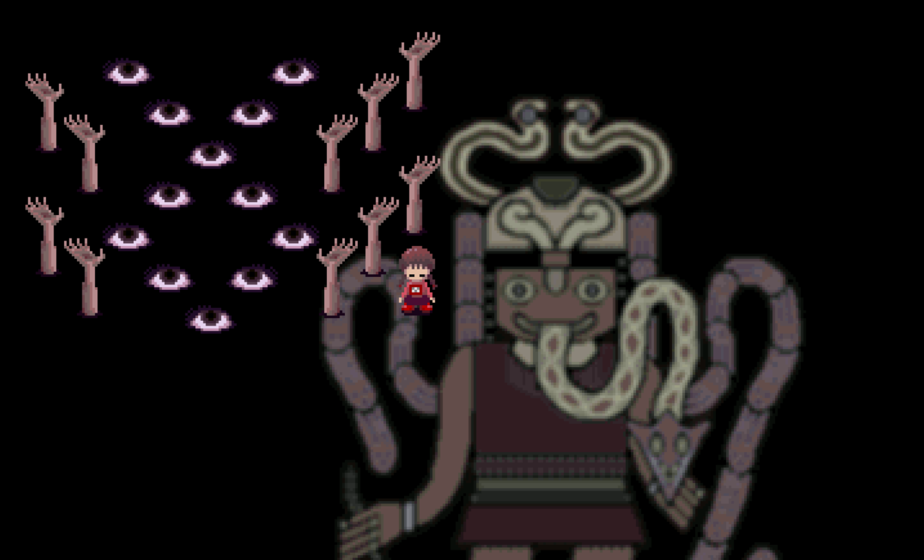 Yume Nikki out now for free on Steam
