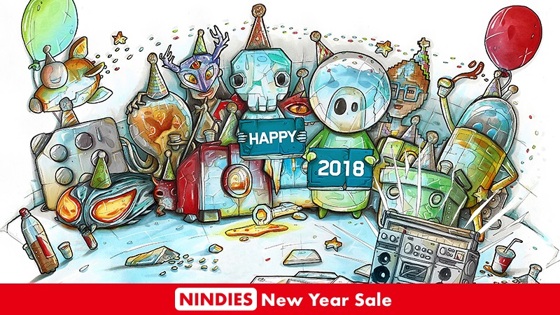 Nine indie Switch titles heavily discounted