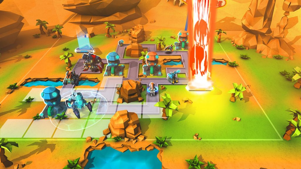 Mobile strategy game Super Senso out today