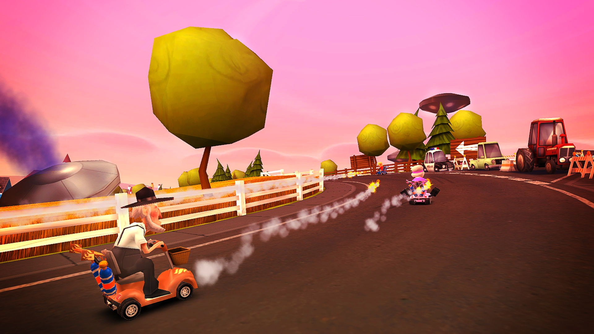 Coffin Dodgers racing onto Switch