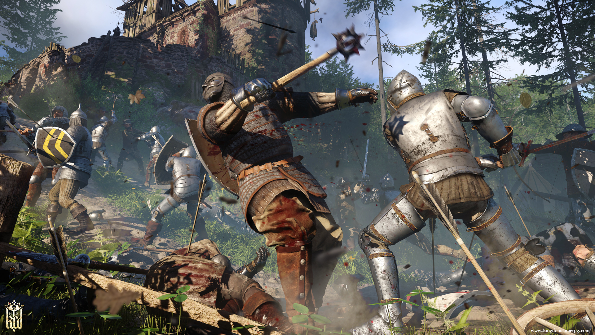 Kingdom Come: Deliverance gets launch trailer