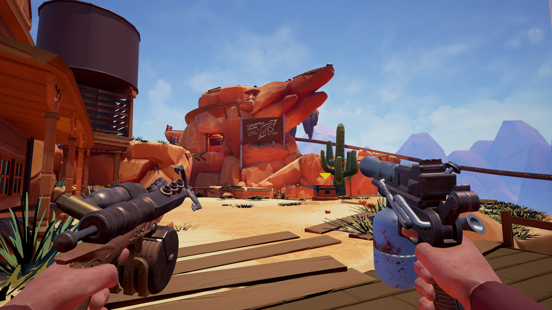 Sky Noon shooting into Steam Early Access soon
