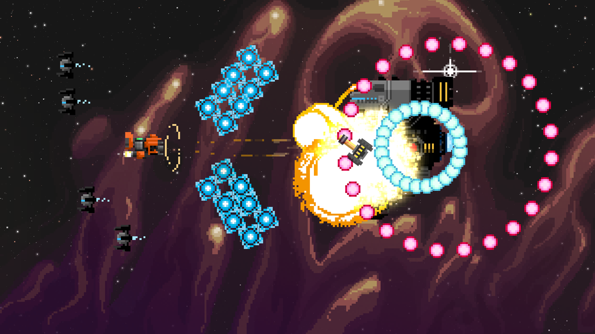 Steredenn: Binary Stars blasting onto Switch