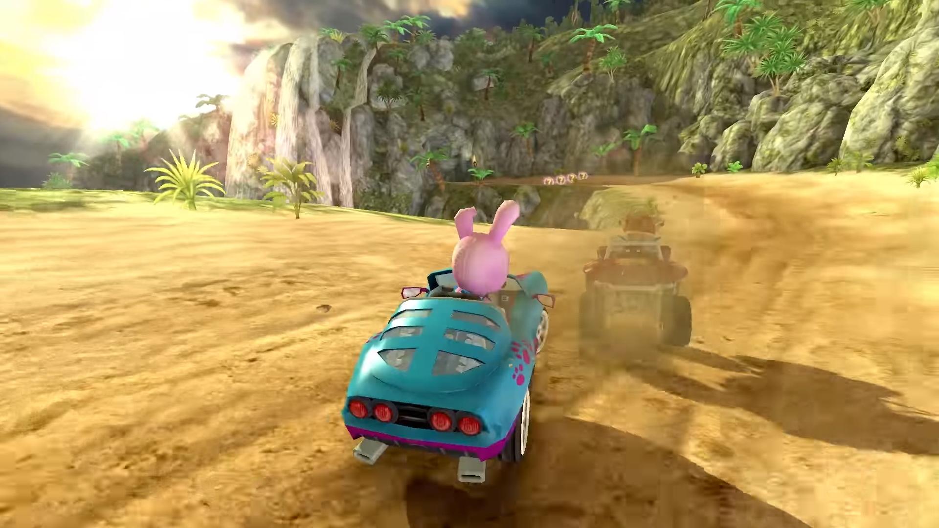 Beach Buggy Racing 2 drifting onto mobile