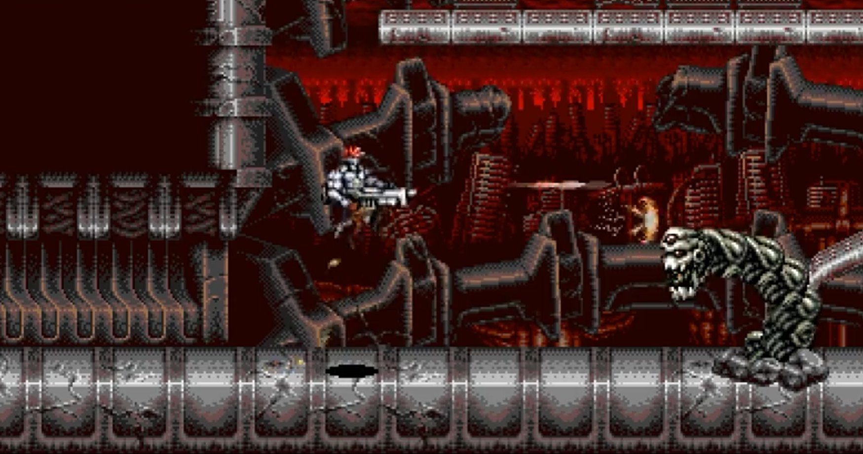 Blazing Chrome announced by new indie dev