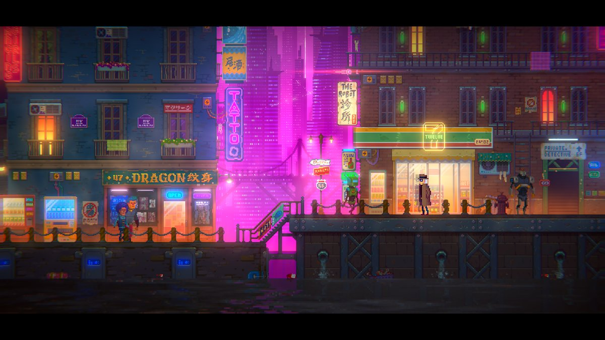 Cyberpunk mystery Tales of the Neon Sea announced