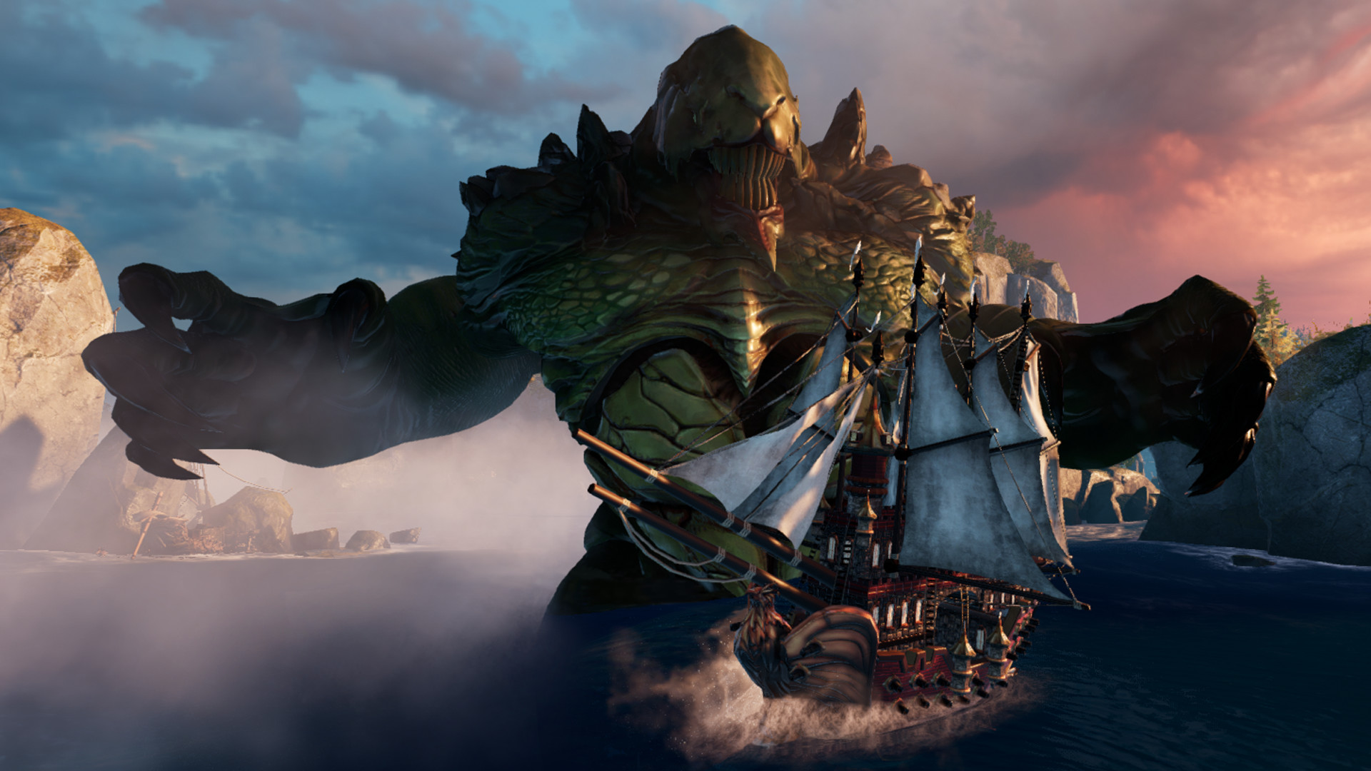 Maelstrom anchoring onto Steam Early Access soon