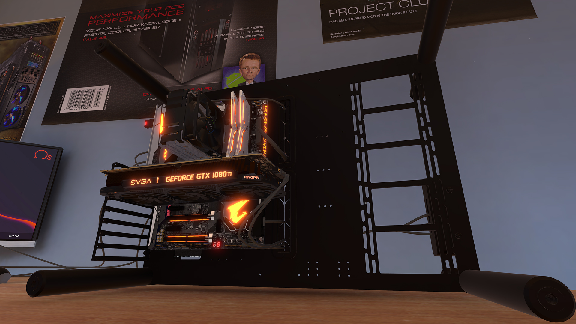 PC Building Simulator enters Early Access today