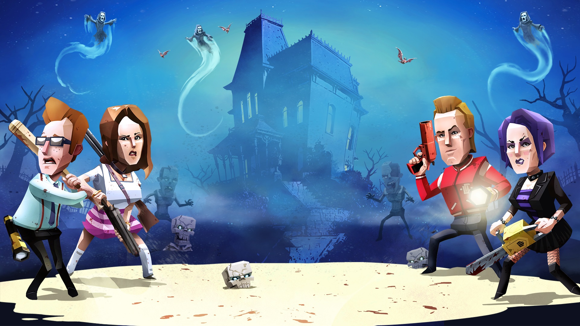 Phantom Halls celebrates B-movie horror this Halloween