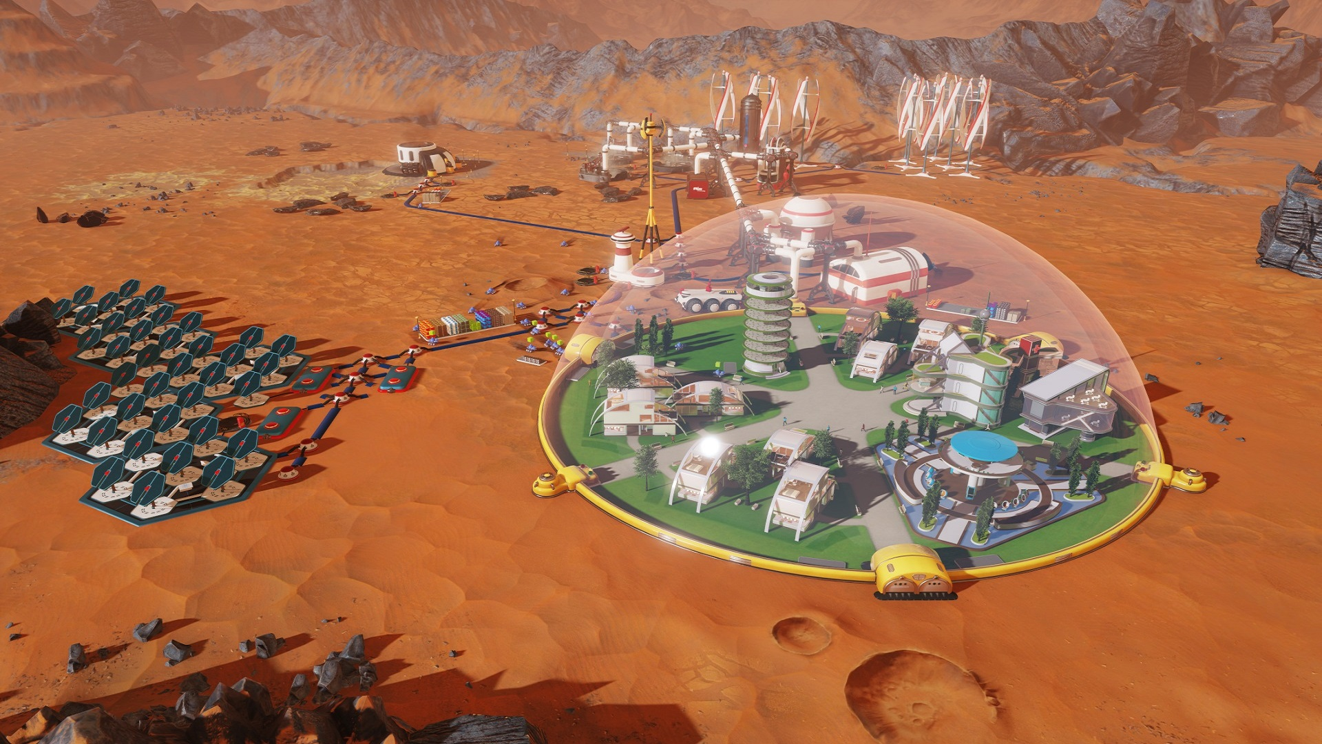 Surviving Mars now available worldwide