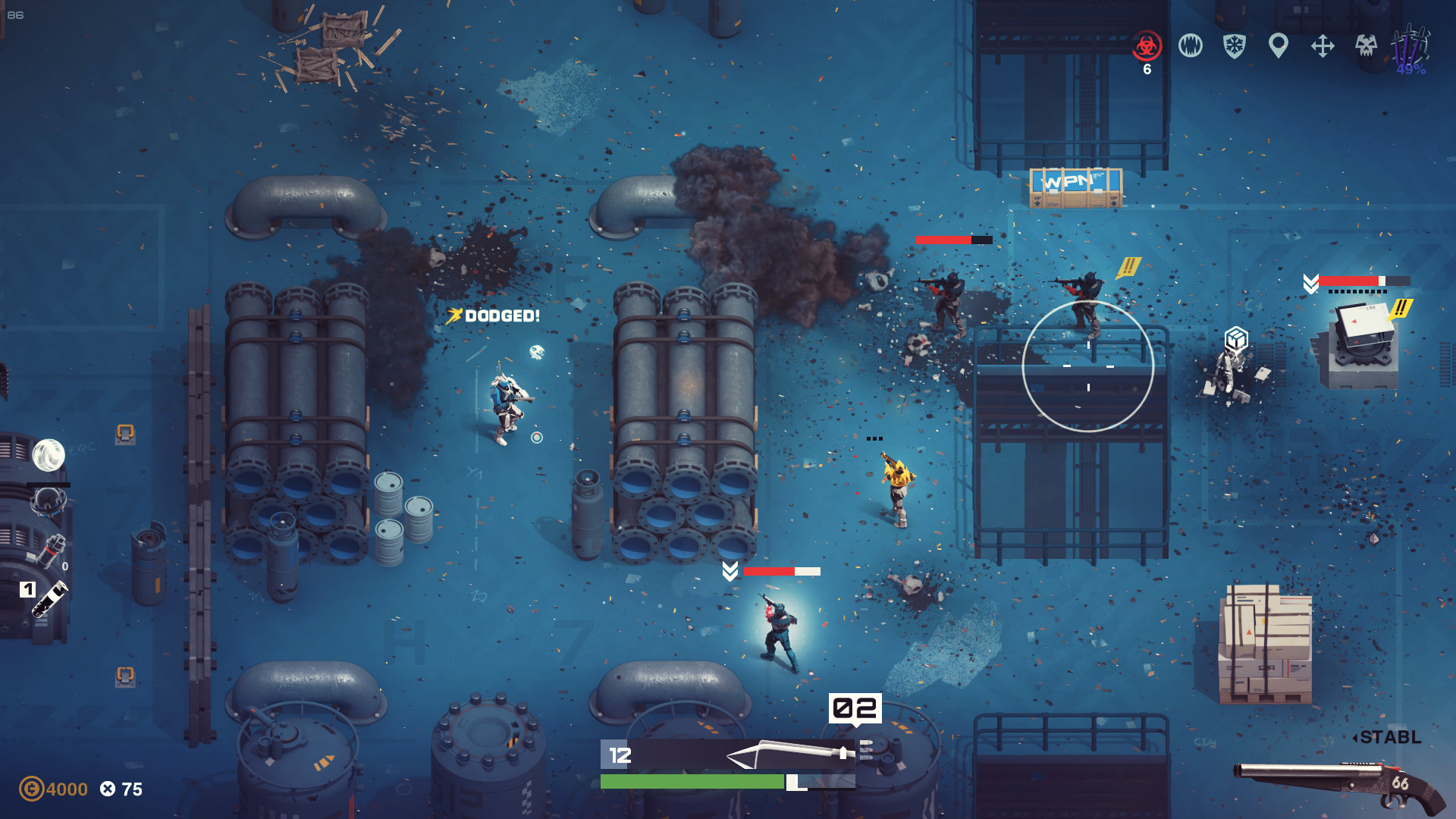 Synthetik is out now on Steam