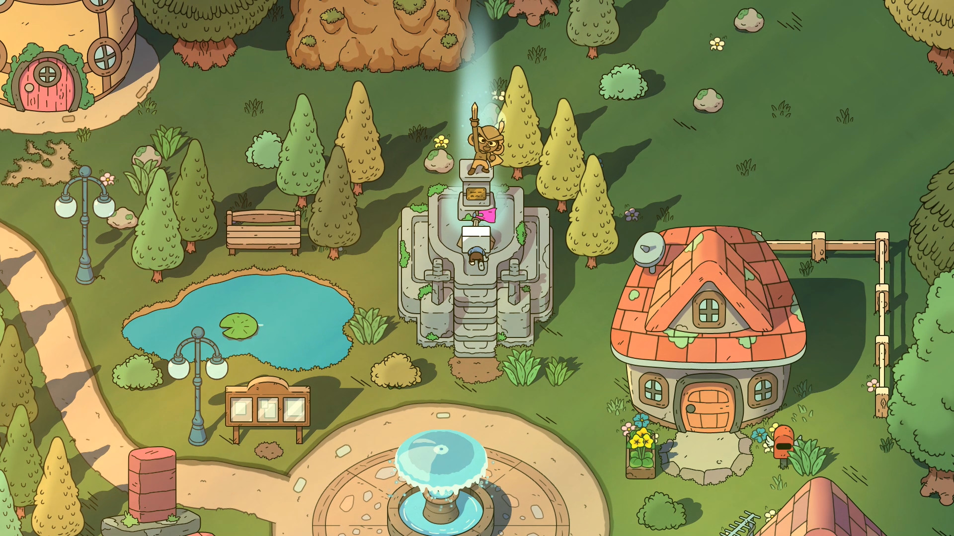 The Swords of Ditto rising onto PC and PS4 soon