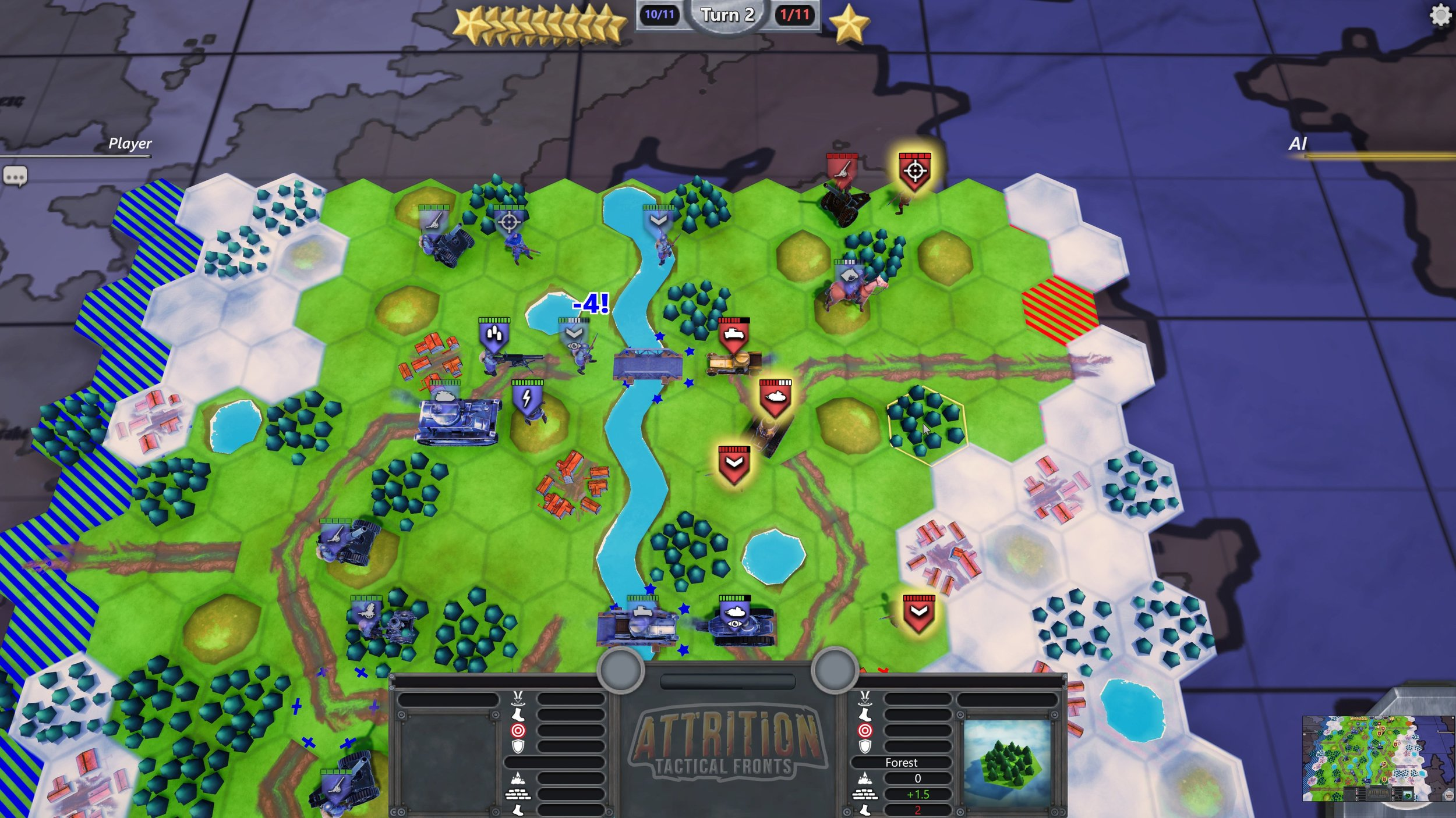 Attrition: Tactical Fronts is out now on Steam
