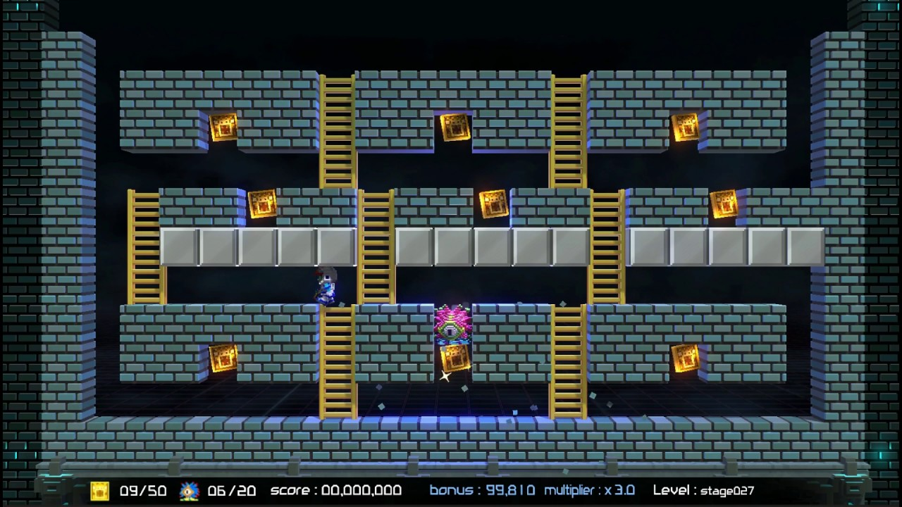 Lode Runner Legacy steals onto Switch