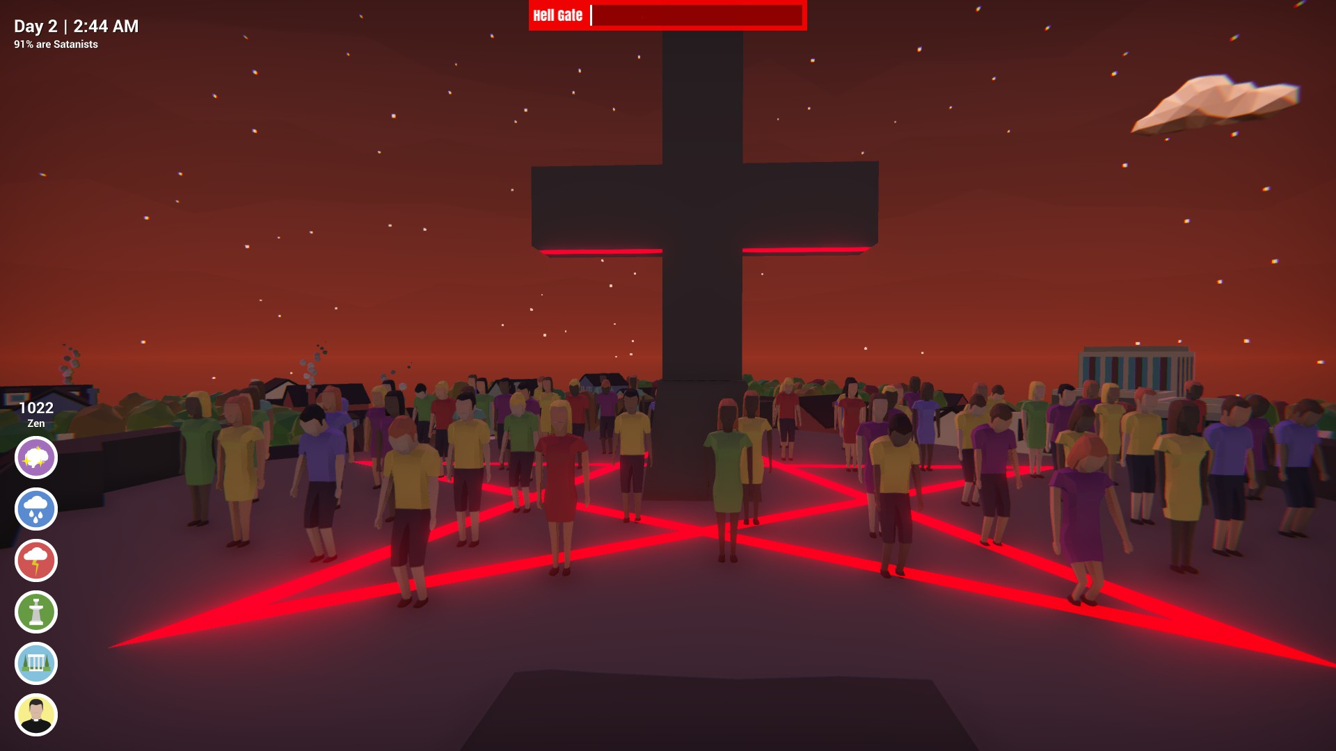 Don't Pray to Satan out now on Steam