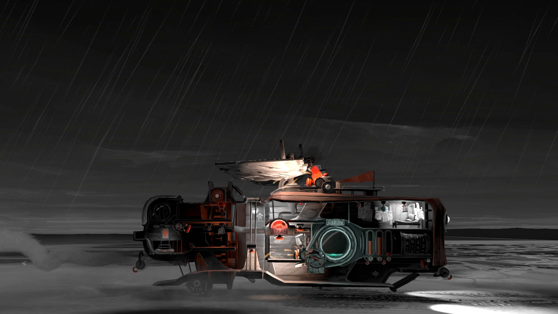 Far: Lone Sails provides relaxing post-apocalyptic gameplay