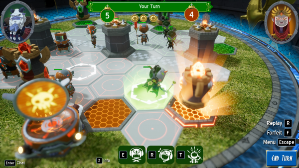 Strategy PvP Hex Gambit out on Early Access