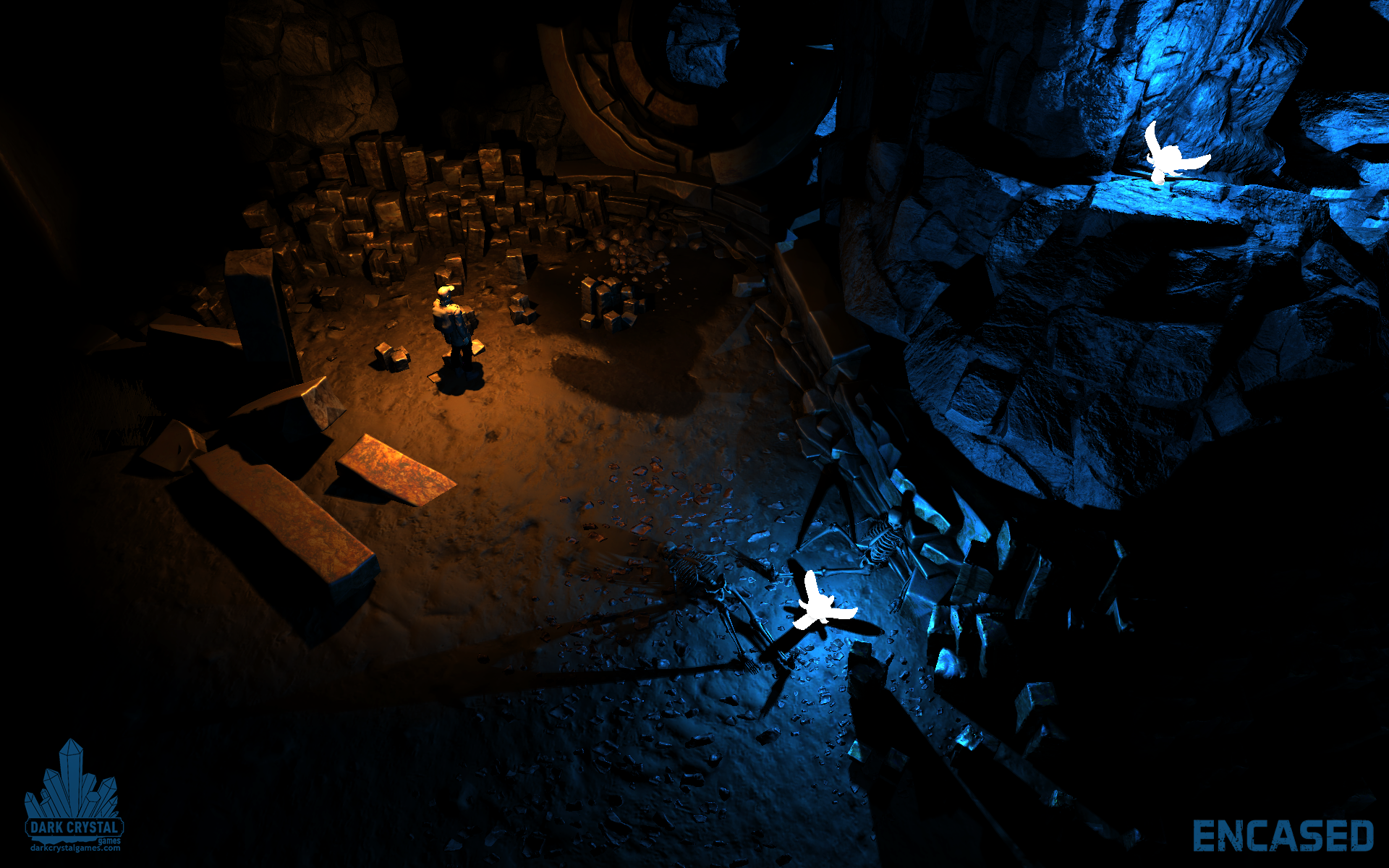 Isometric RPG Encased announced