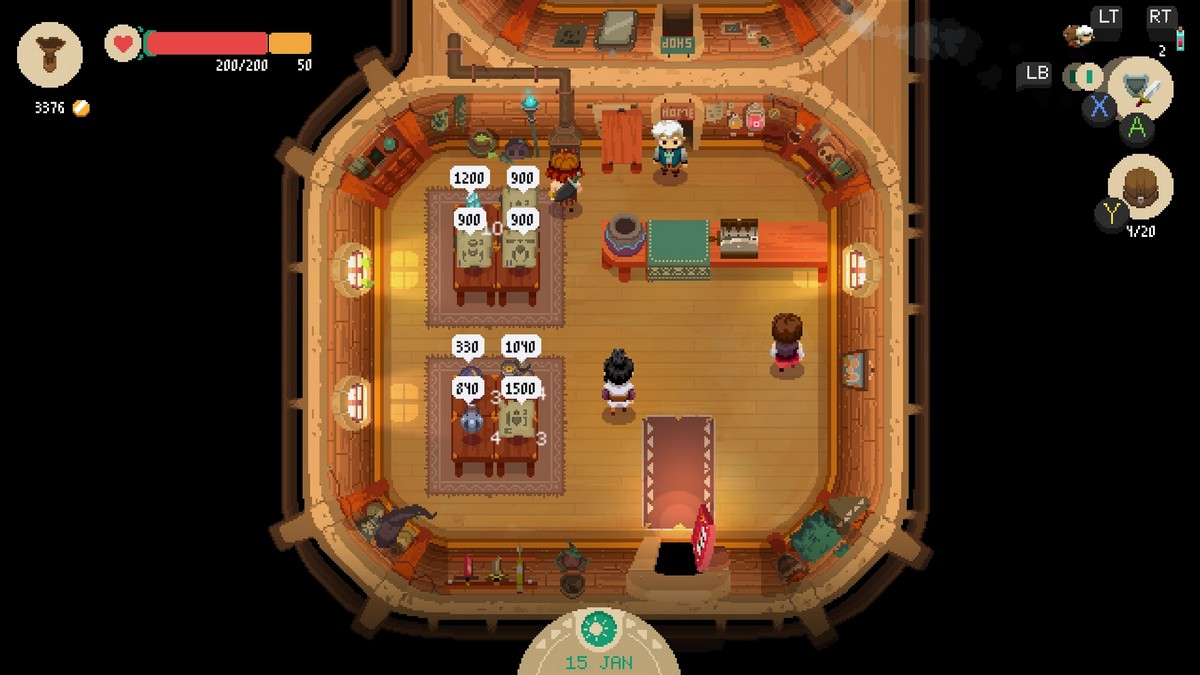 Rogue-like RPG Moonlighter out on PS4 and Switch