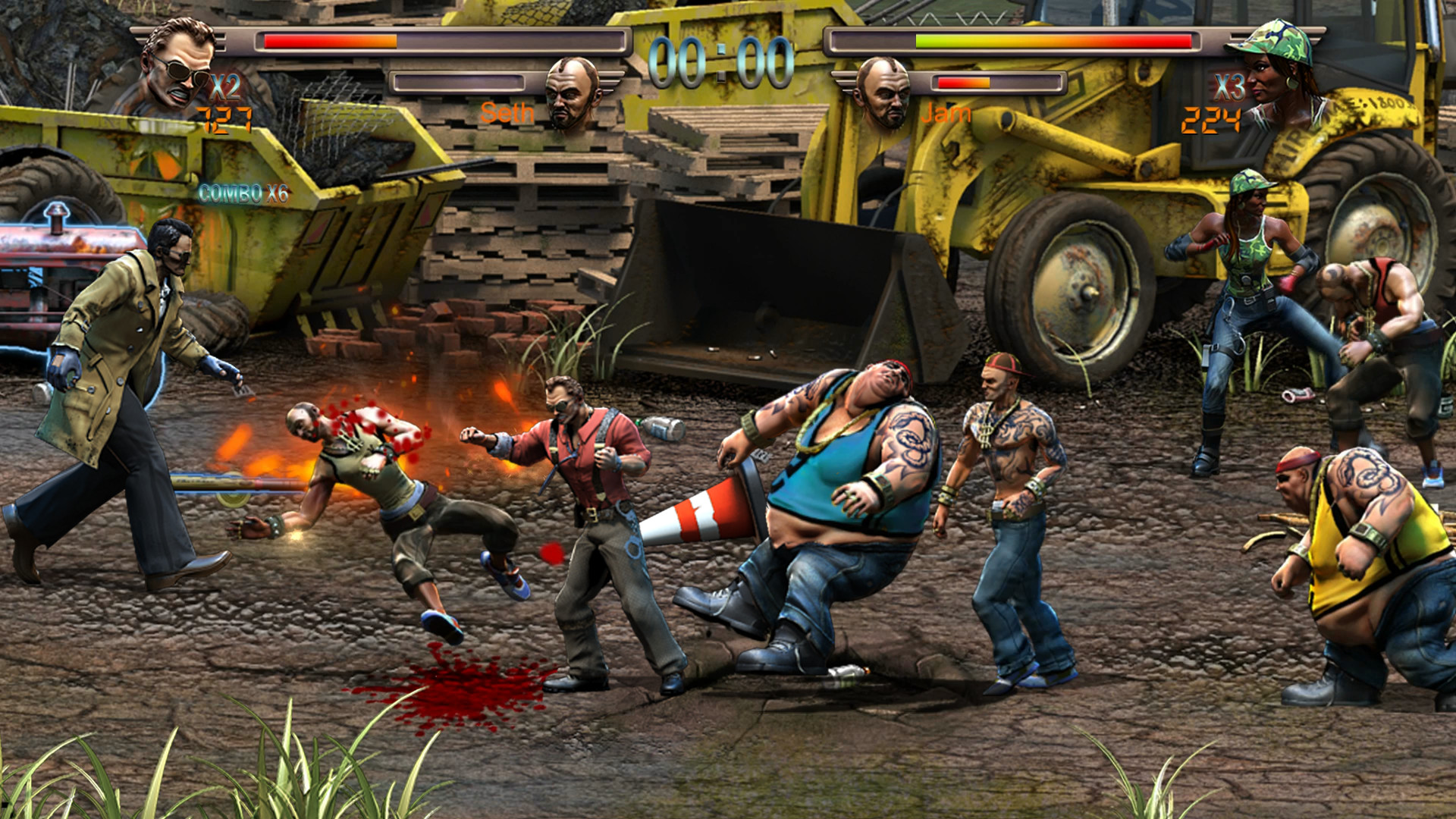 Arcade style Raging Justice is out now on PC and consoles