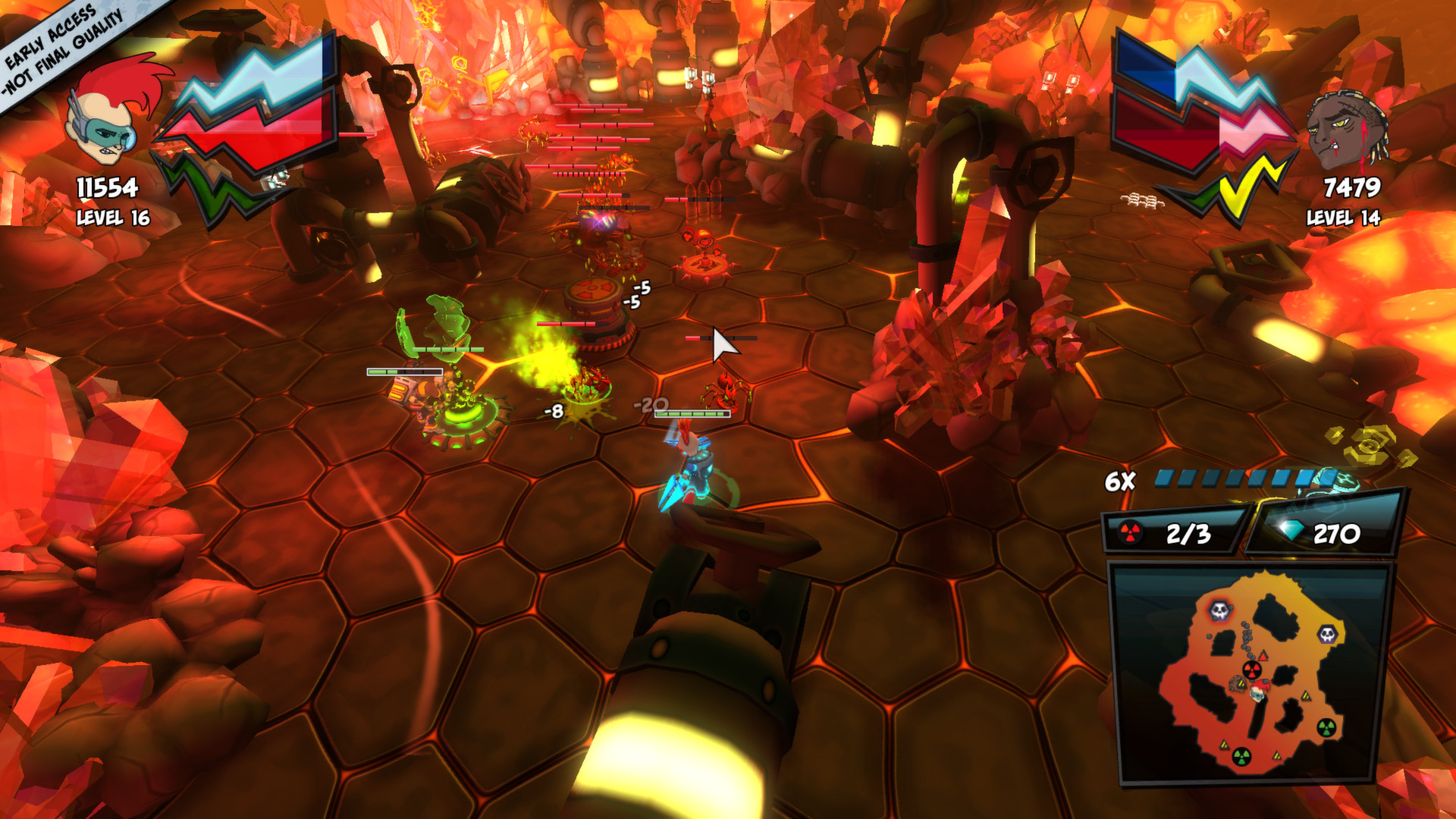 Co-op space shooter Zamb! Redux is out on Xbox One