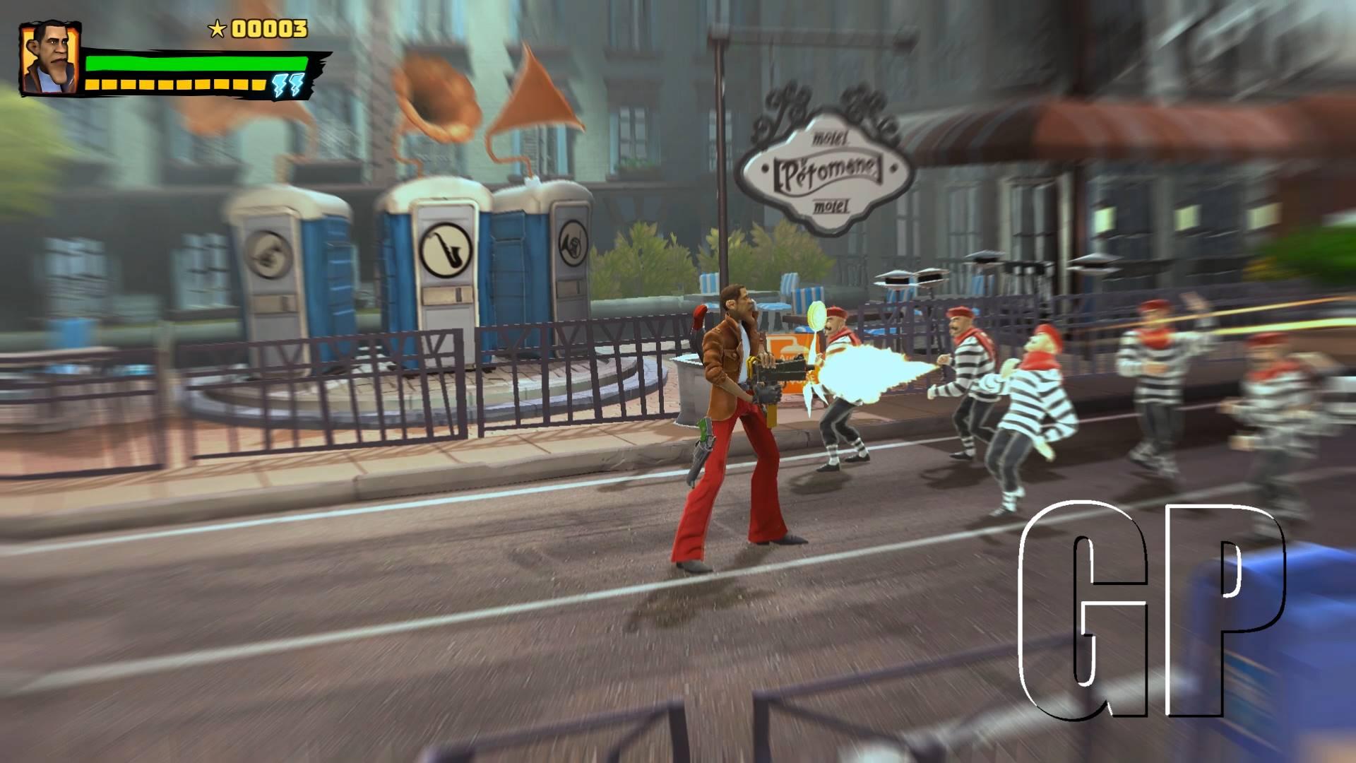 Shaq Fu: A Legend Reborn bonus game introduces Barack Fu!