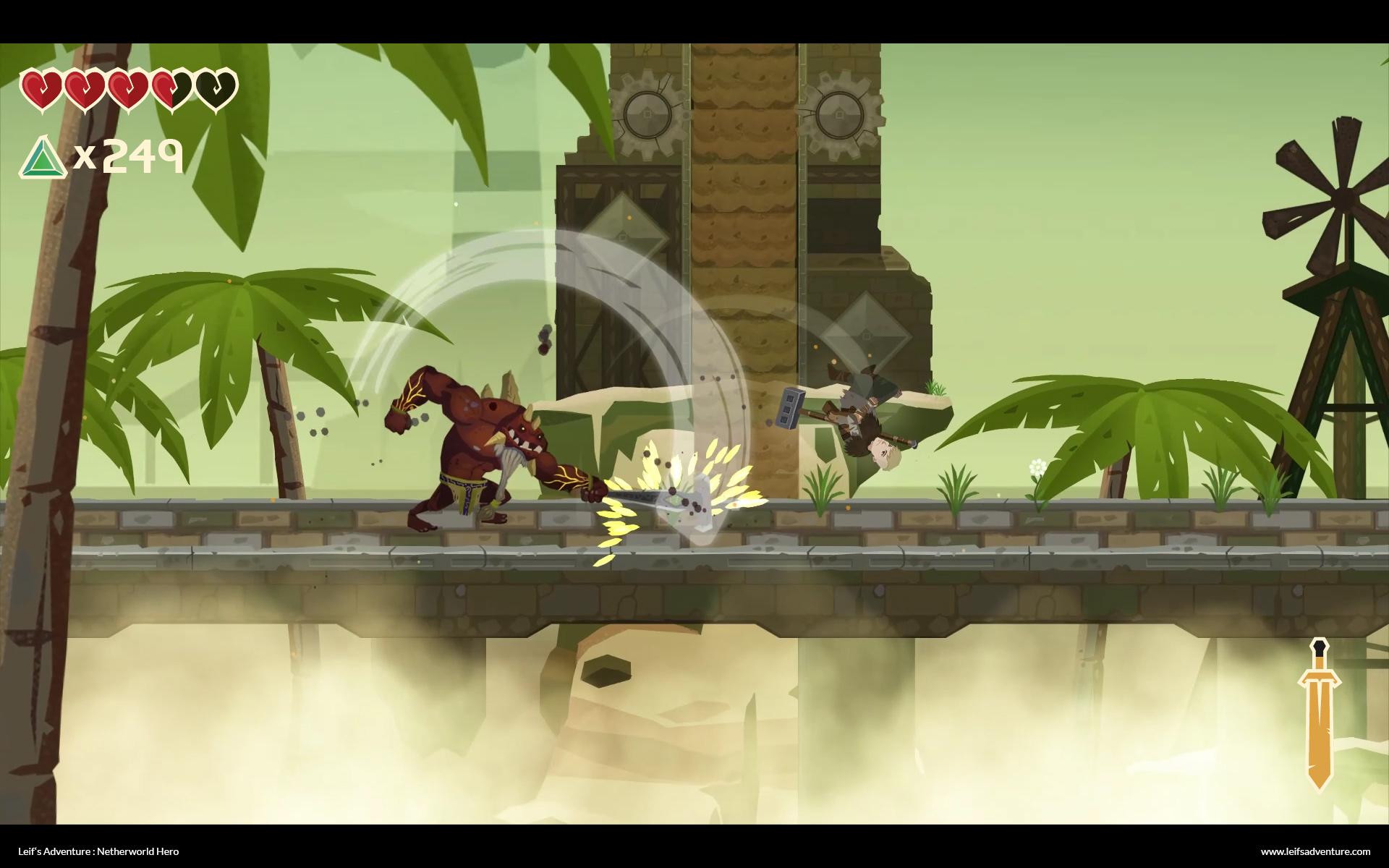Leif's Adventure: Netherworld Hero coming soon to Nintendo Switch