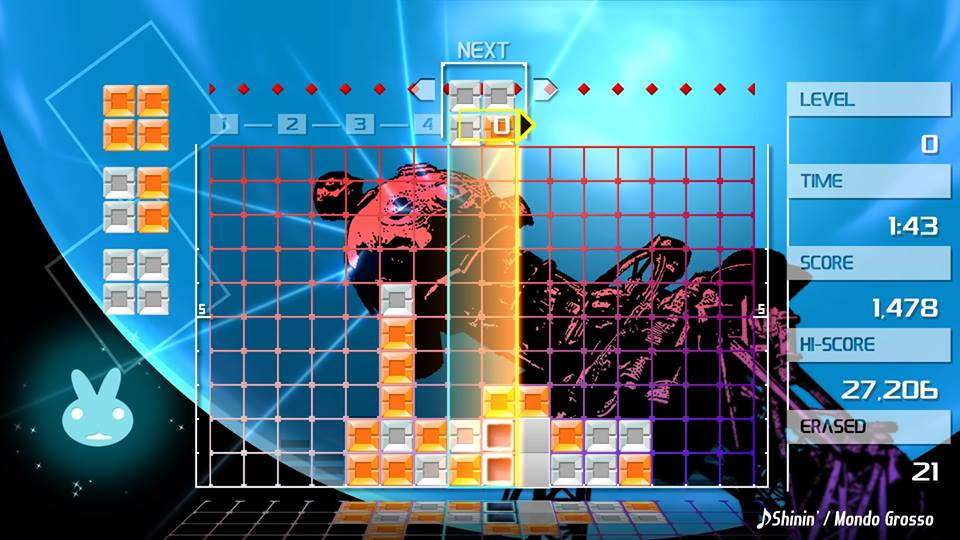 Lumines Remastered PS4 review