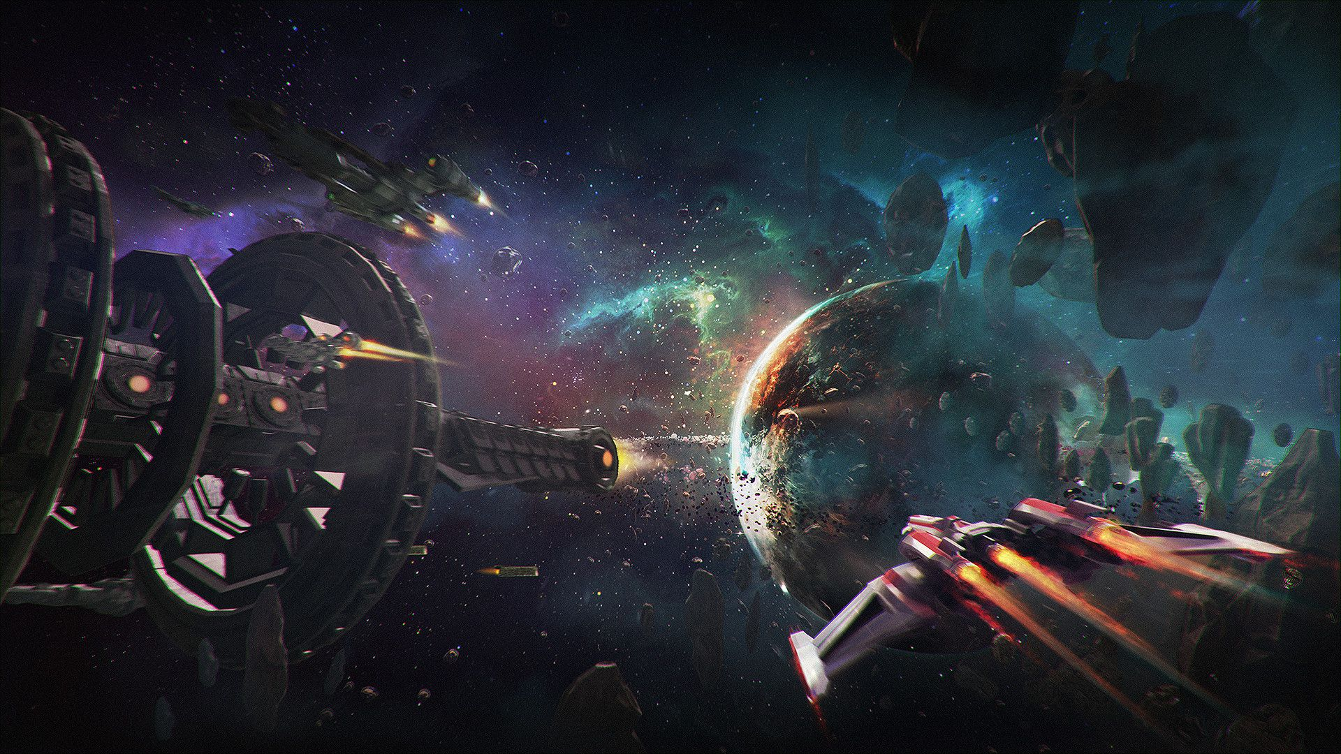 Redout Space Assault coming in 2019