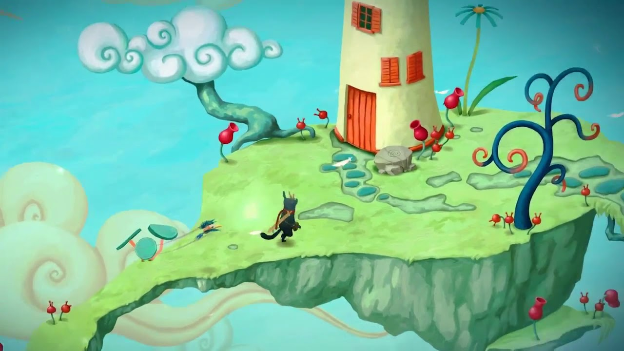 Musical puzzler Figment out on Switch now