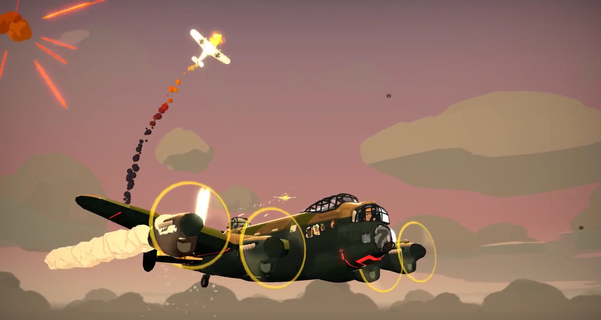Bomber Crew blowing up consoles today